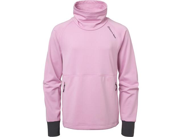 North Bend Route Fleece Veste Enfant, pink taffy